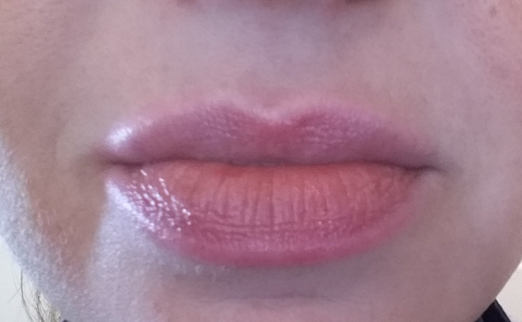 Bobbi Brown Extra Lip Tint - Bare Pink - my lips in natural light swatch