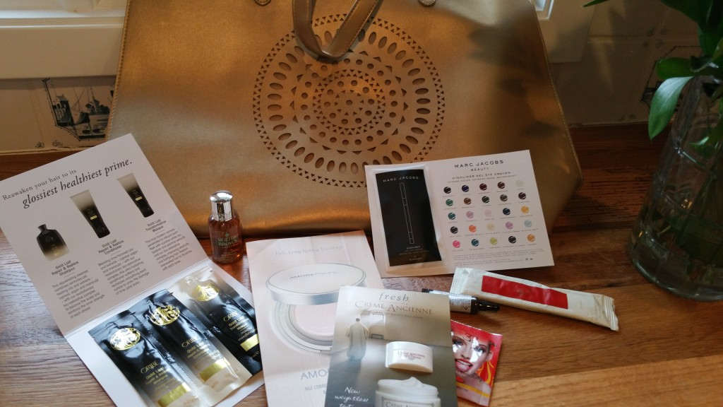 My gifts with purchase from the Neiman Marcus February 2016 Beauty Event!