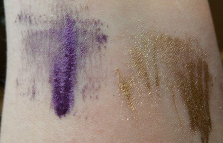 Lancôme Hypnose Chromatics in Amethyste- 02 left) and Saint Honore- 03 right)