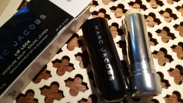Marc Jacobs Beauty Lip Lock Moisture Balm and Fresh Sugar Nourishing Lip Balm Advanced Therapy