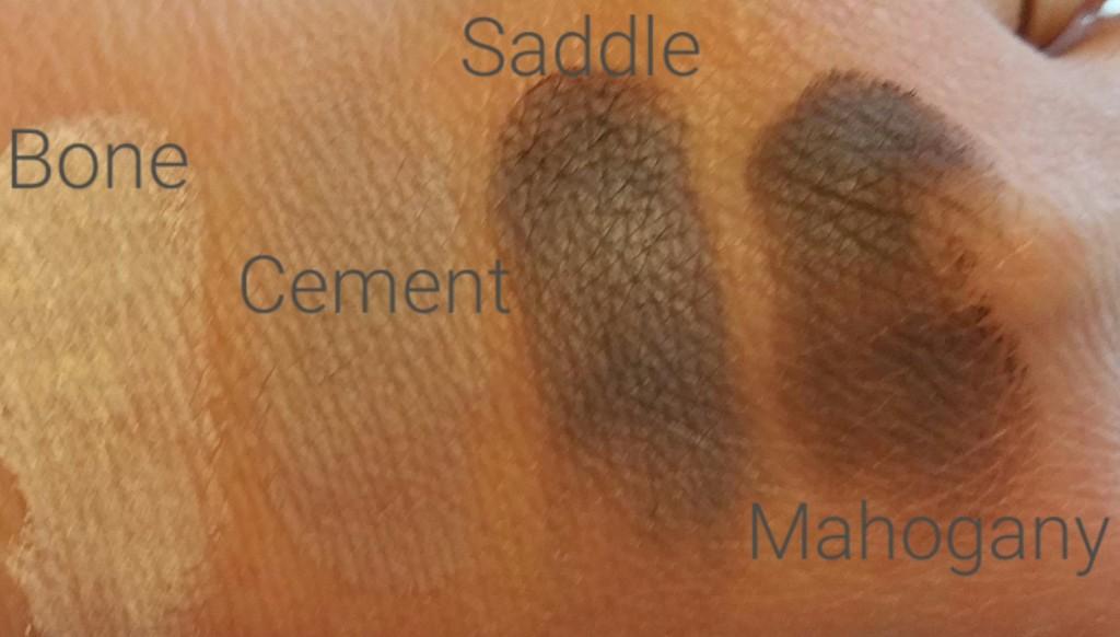 Bobbi Brown Classic Eye Shadow Palette - Bone, Cement, Saddle, and Mahogony