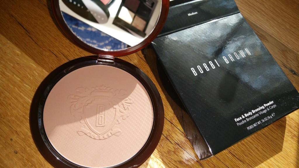 Bobbi Brown Cosmetics Face & Body Bronzing Powder in Medium