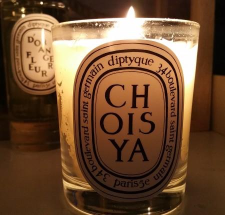 Diptyque Fleur D'Orange room spray (5.1 oz) and Choisya candle (6.5 oz)