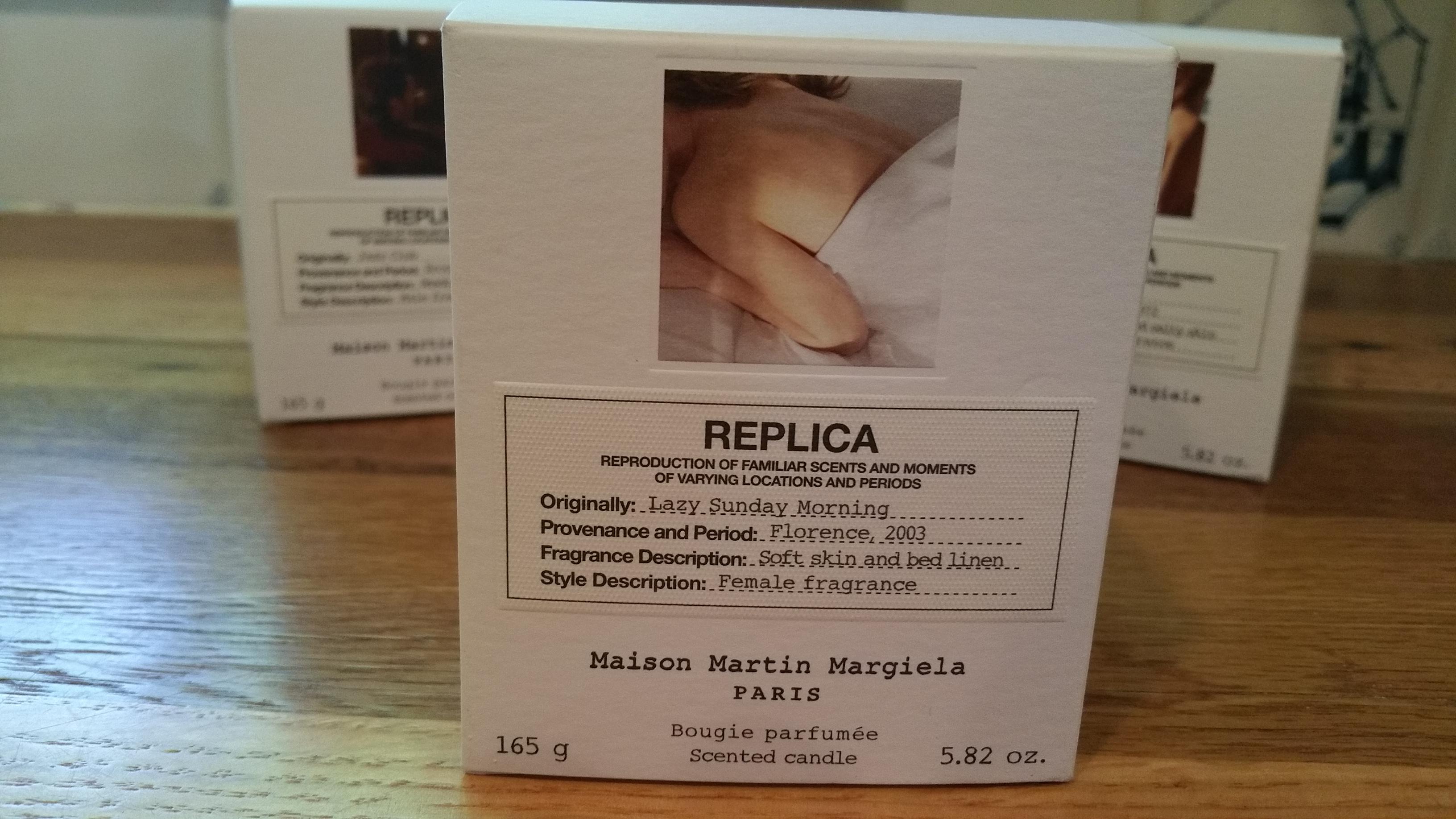 Replica by Maison Martin Margiela candles