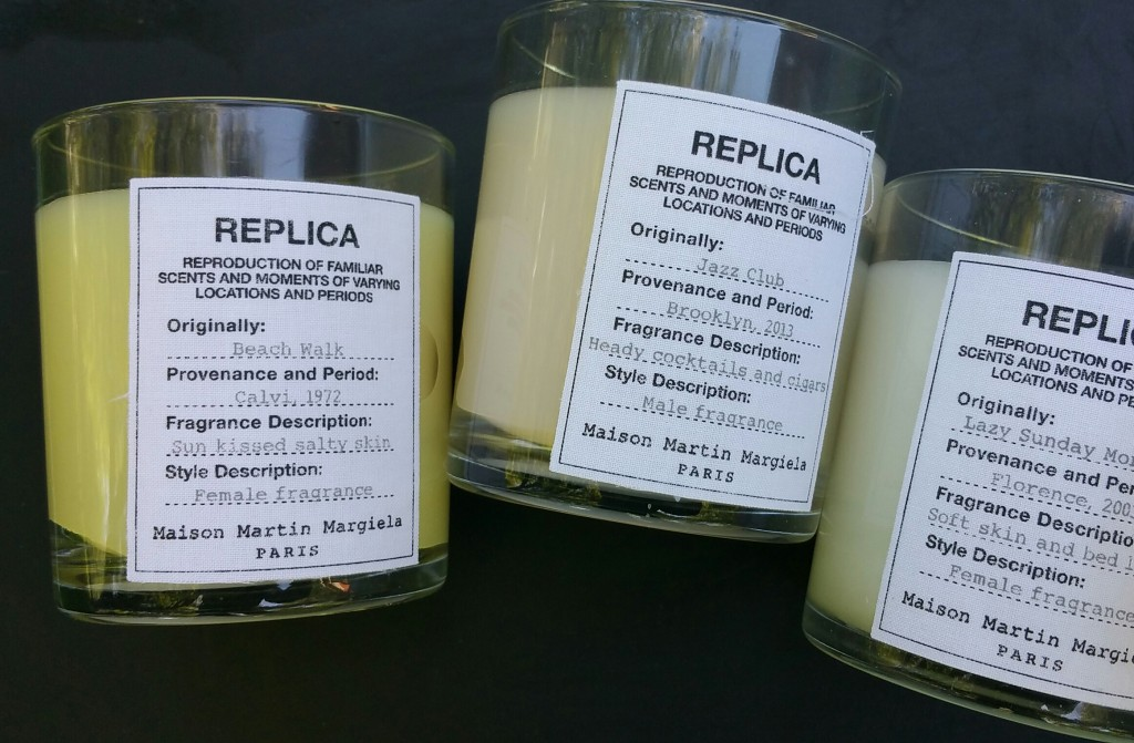 Replica by Maison Martin Margiela - Candles scented as Beach Walk, Jazz Club, and Lazy Sunday Morning