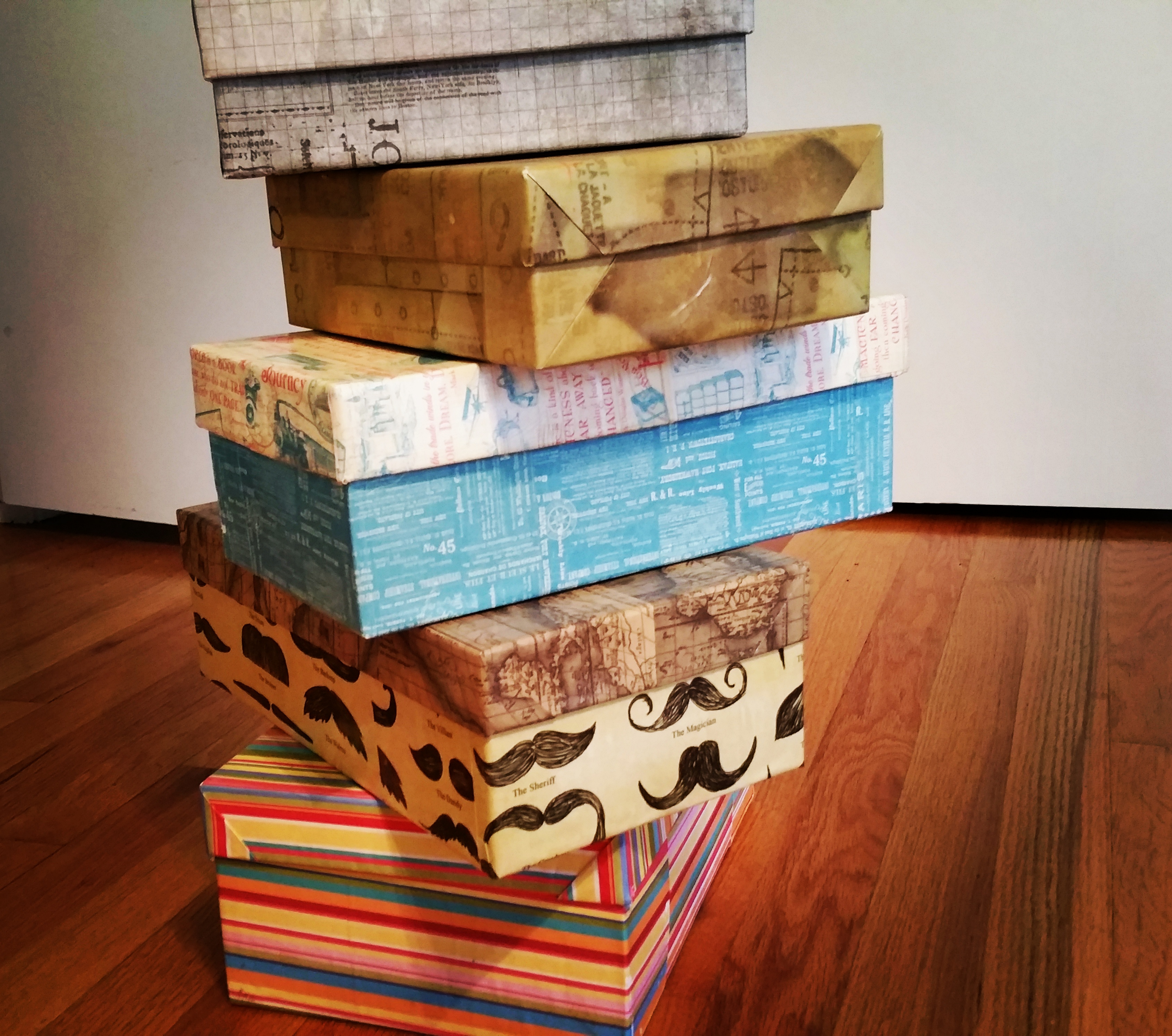 More covered boxes!