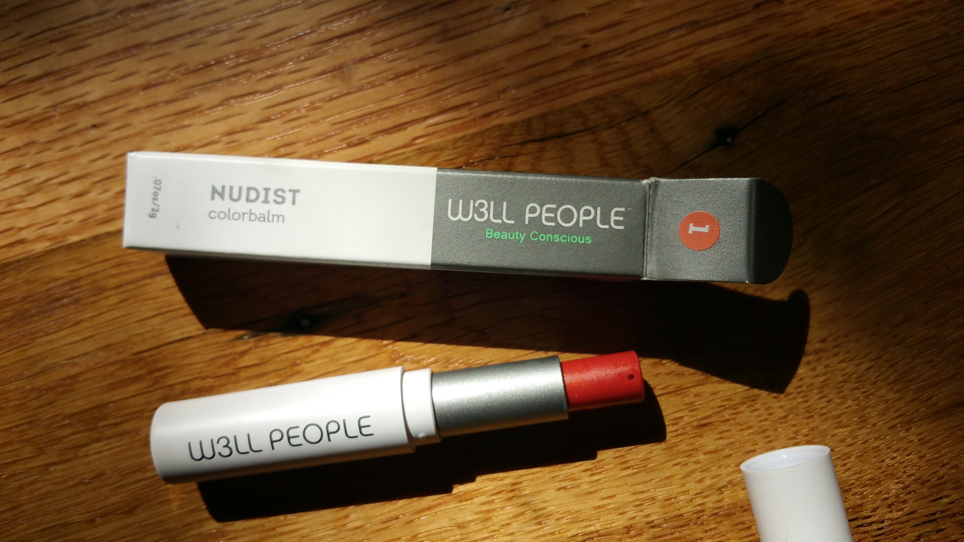 W3LL People Nudist ColorBalm No. 1 (Coral)