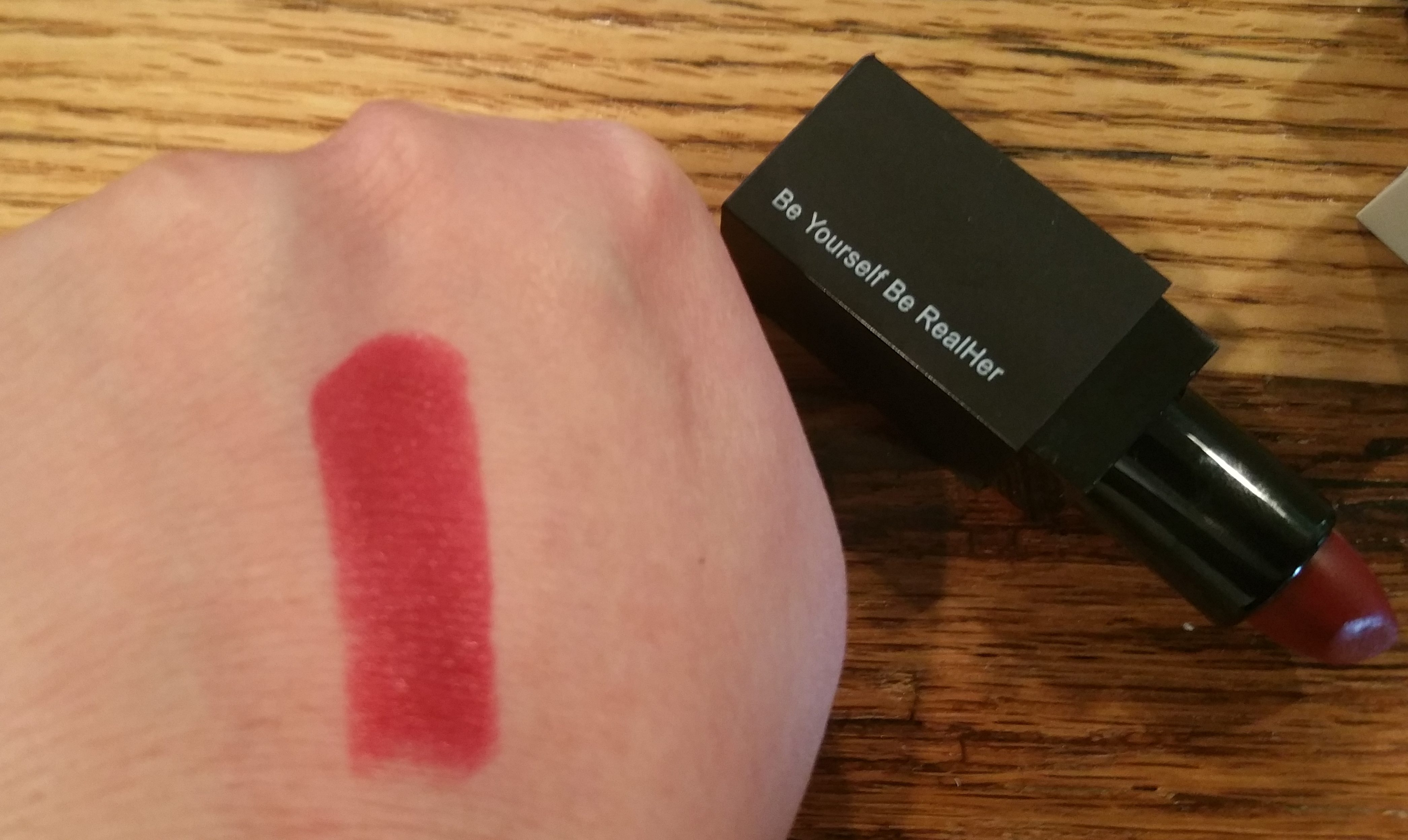 RealHer Lipstick in Be Yourself Be RealHer