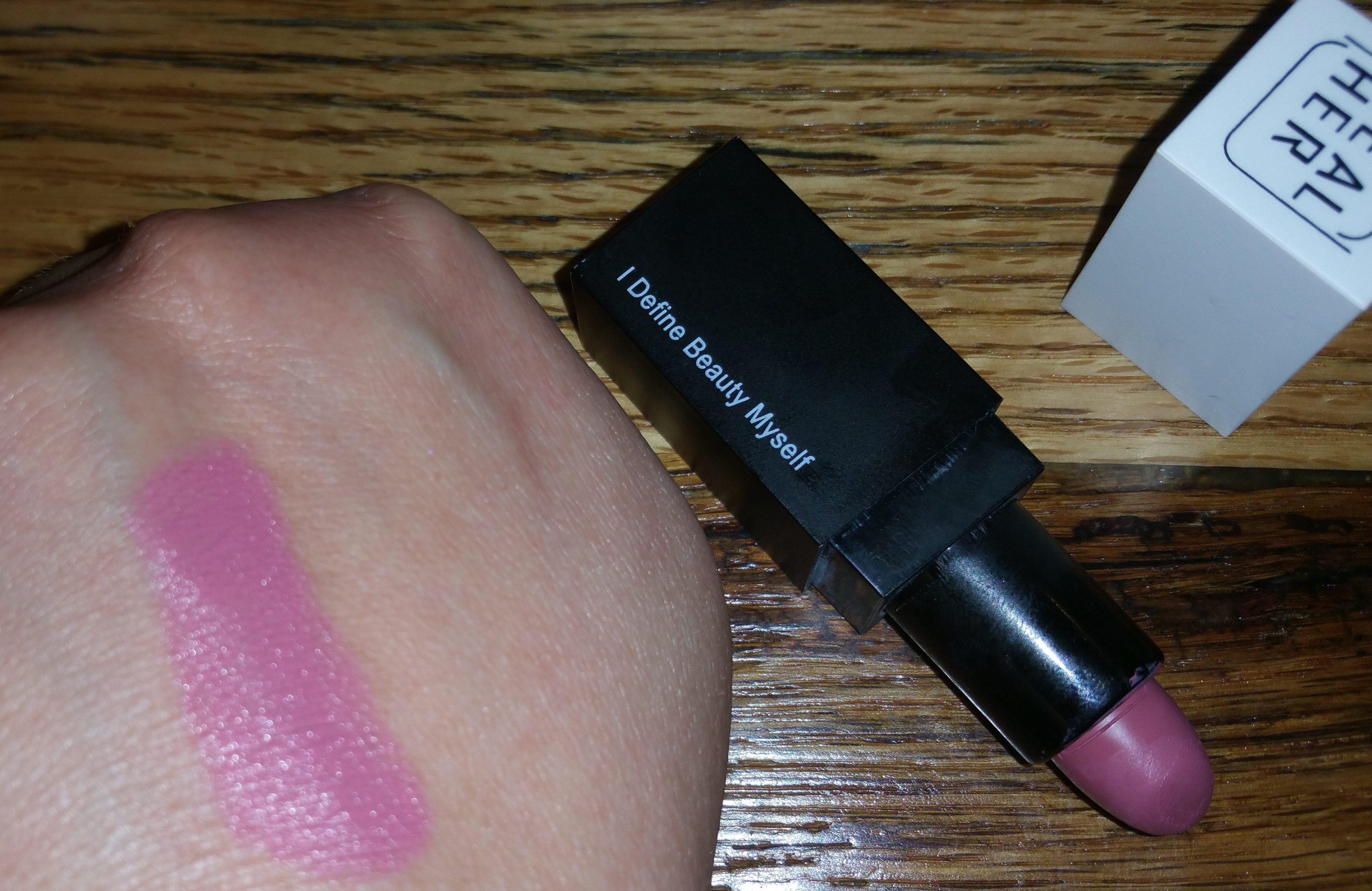 RealHer Lipstick in I Define Beauty Myself